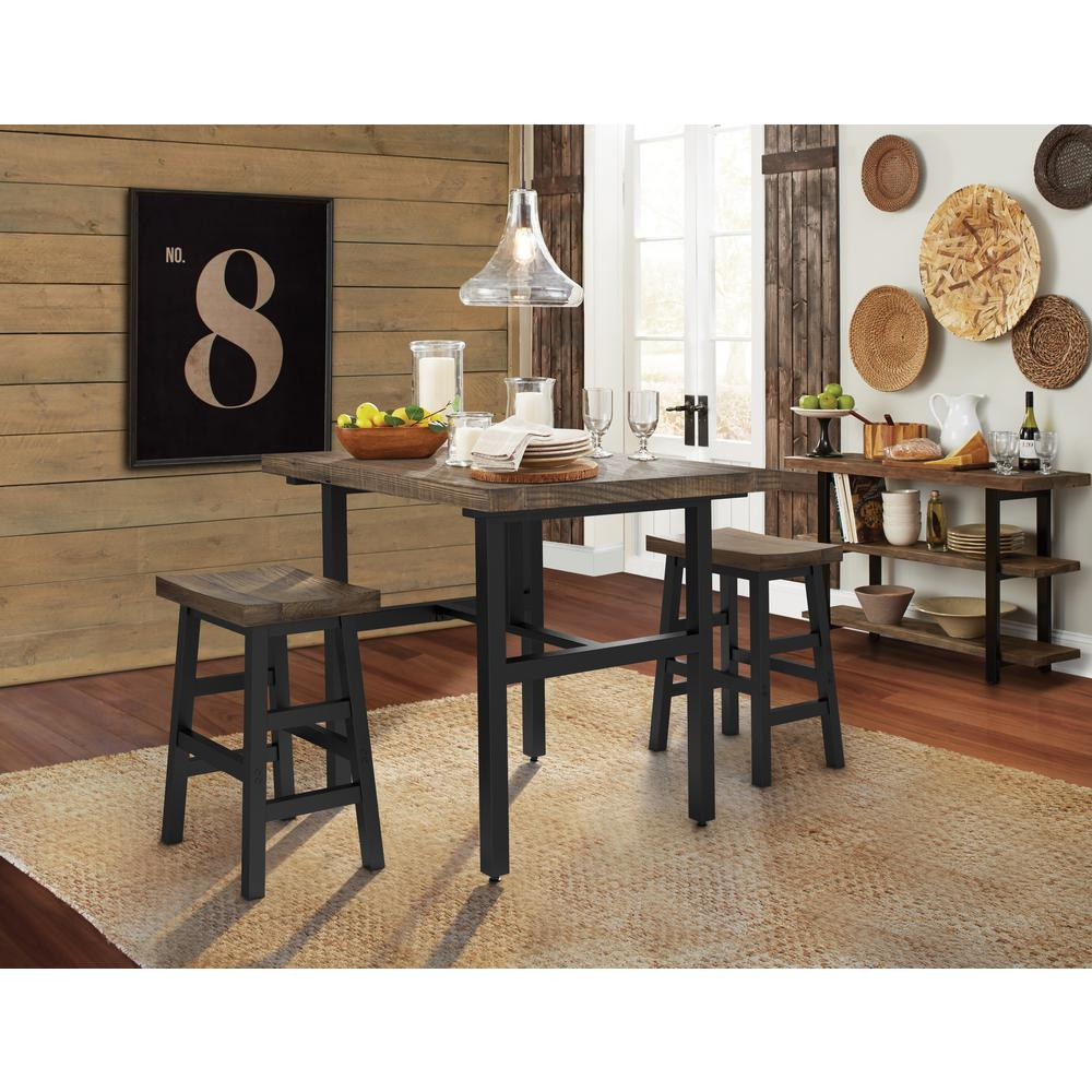 H Reclaimed Wood Counter Stool with Metal Legs  sc 1 st  The Home Depot & Alaterre Furniture Pomona 26 in. H Reclaimed Wood Counter Stool ... islam-shia.org