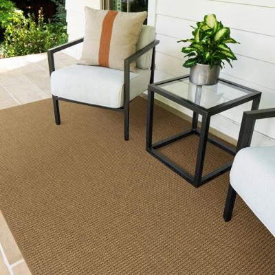 Segovana Saddle 10 ft. x 14 ft. Solid Indoor/Outdoor Area Rug