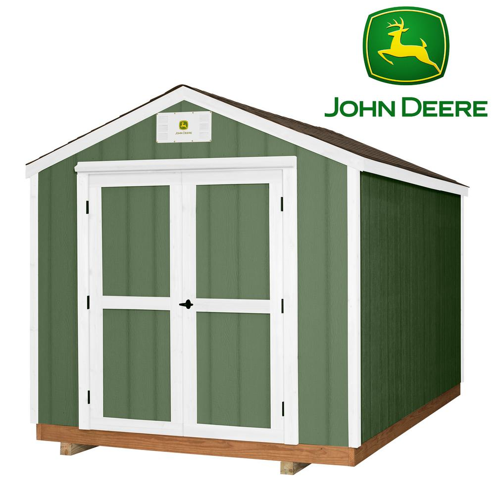 Backyard Discovery Heavy Duty John Deere 8 ft. x 12 ft.