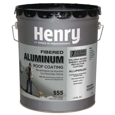 5 Gal. 555 Premium Aluminum Reflective Roof Coating