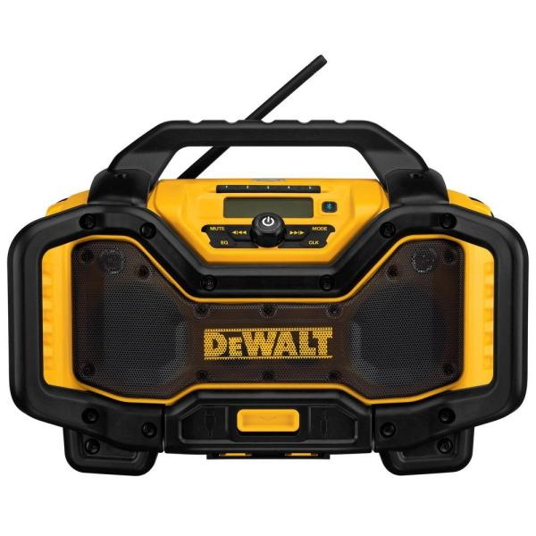 20-Volt MAX or FLEXVOLT 60-Volt MAX Lithium-Ion Bluetooth Radio with built-in Charger