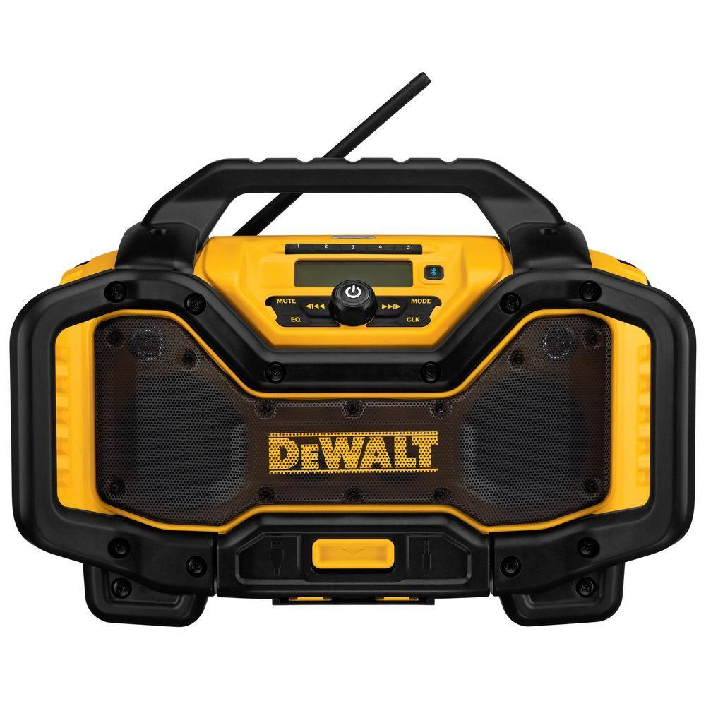 Dewalt 20-Volt or 60-Volt Lithium-Ion Battery Charger/Bluetooth Radio by DEWALT