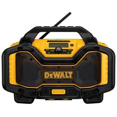 20-Volt or 60-Volt Lithium-Ion Battery Charger/Bluetooth Radio