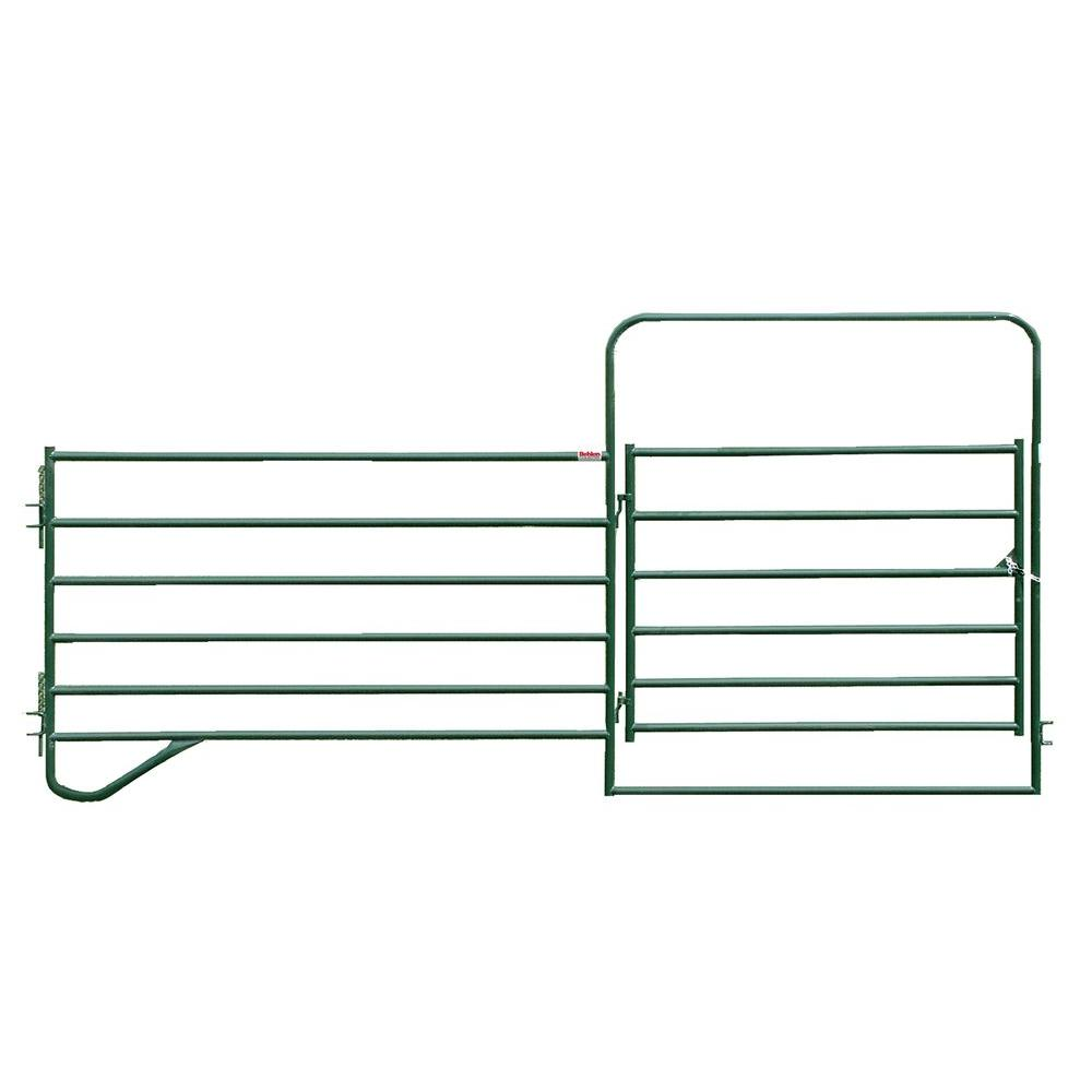 12 ft. x 5 ft. Entrance Panel with 6 ft. Gate