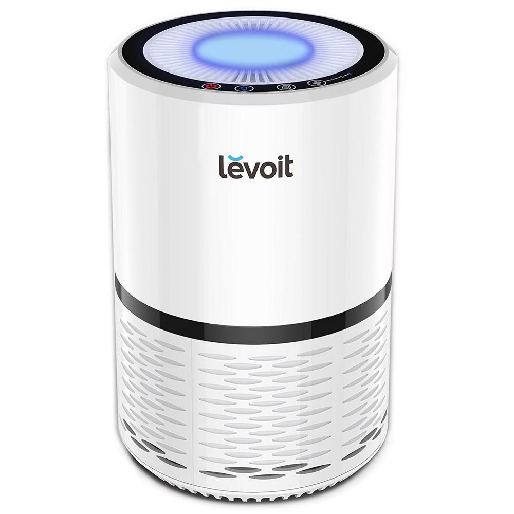 LEVOIT Levoit LV-H132 Air Purifier with True Hepa Filter (White)