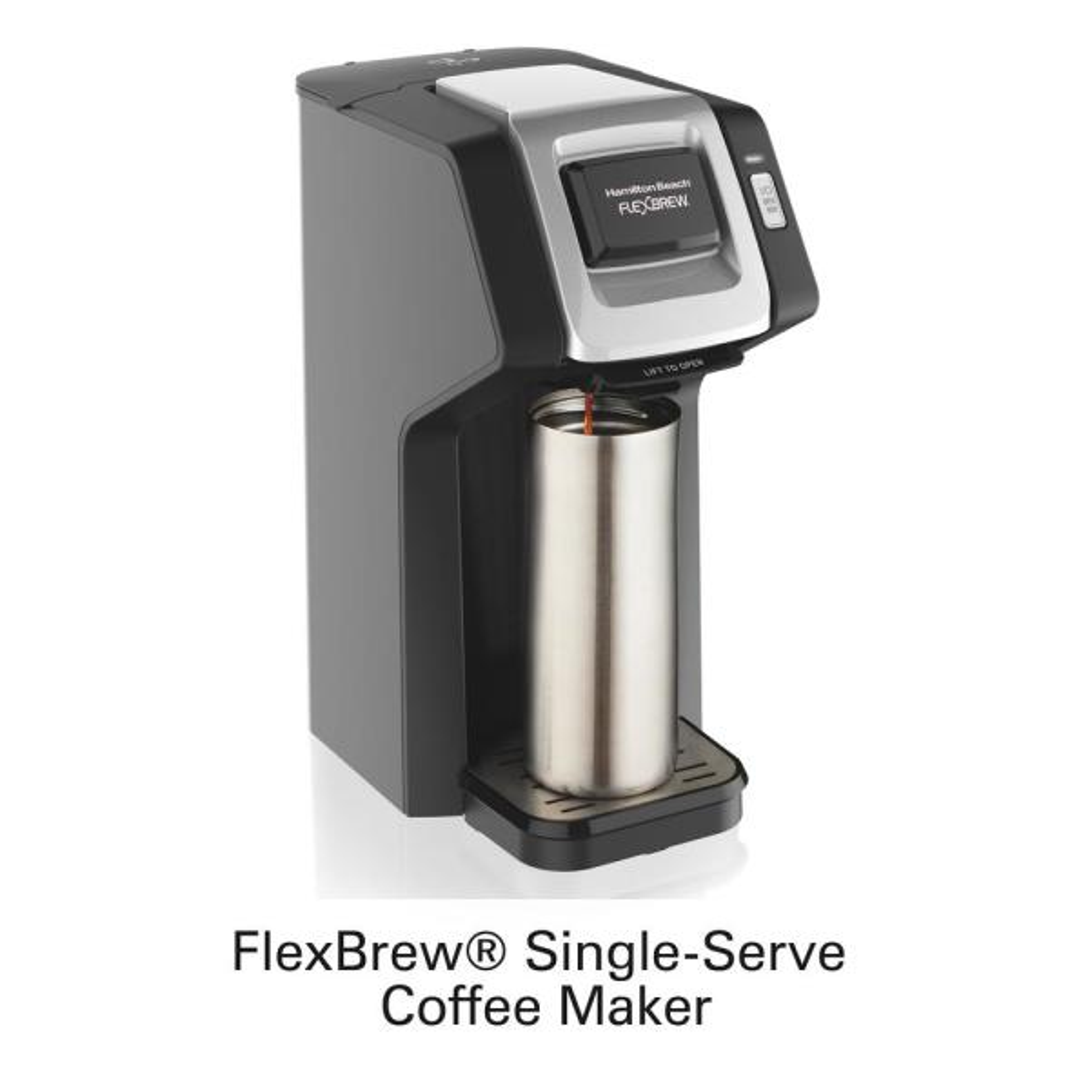 FlexBrew Black Single Serve Coffee Maker