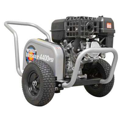 SIMPSON Water Blaster WB60824 4400 PSI at 4.0 GPM SIMPSON 420 Belt Drive Cold Water Pressure Washer