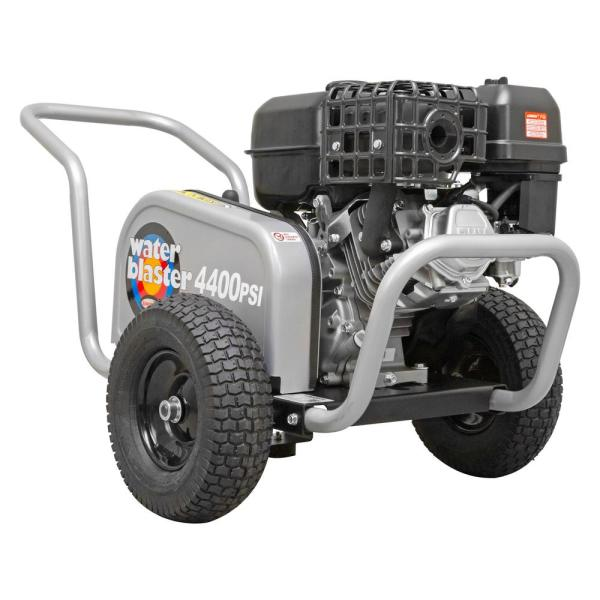 Water Blaster WB60824 4400 PSI at 4.0 GPM SIMPSON 420 Belt Drive Cold Water Pressure Washer