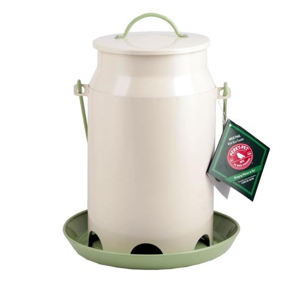 Milk Pail Hopper Hanging Bird Feeder - 5 lb. Capacity