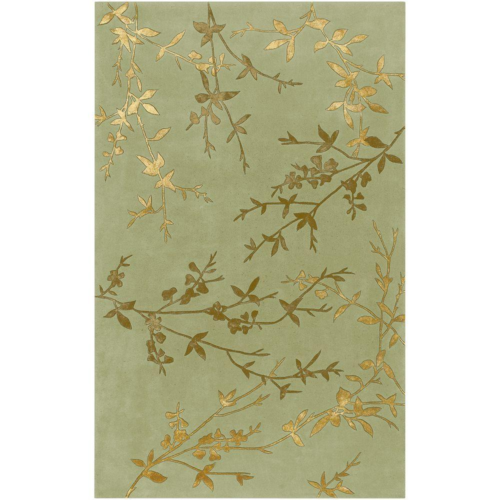 Alicia Teal 2 Ft. X 3 Ft. Area Rug by Artistic Weavers