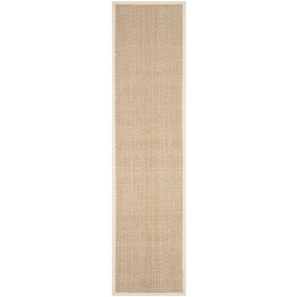 Safavieh Natural Fiber Beige/Ivory 3 ft. x 10 ft. Runner Rug