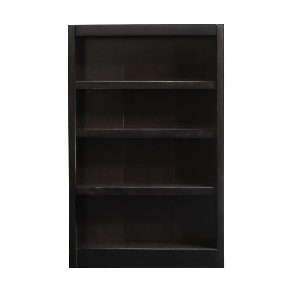 Concepts In Wood Midas Espresso Open Bookcase