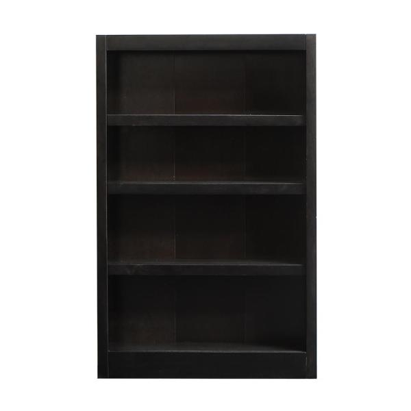 Concepts In Wood Midas Espresso Open Bookcase MI3048-E