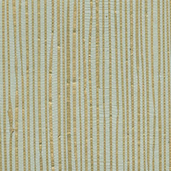 Kenneth James Arina Turquoise Grasscloth Wallpaper 2622-30249