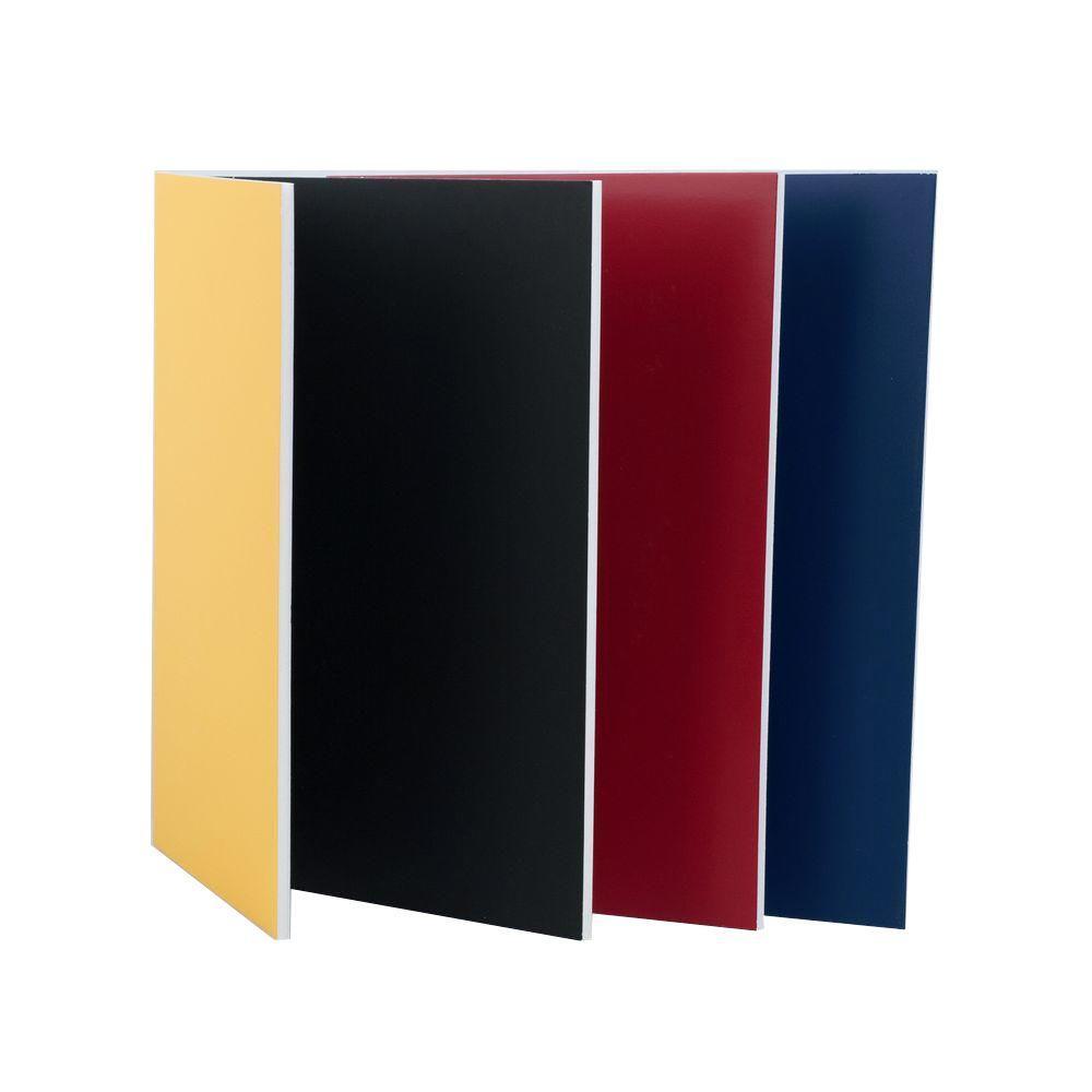20 in. x 30 in. x 3/16 in. Multiple-Color Foam Board (4-Piece/Pack)