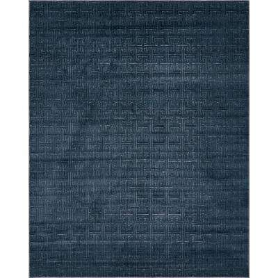 Uptown Collection by Jill Zarin™ Park Avenue Navy Blue 8' 0 x 10' 0 Area Rug