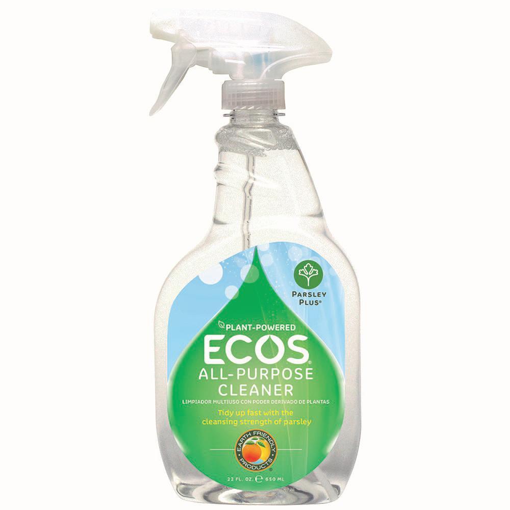 ECOS 22 oz. Trigger Spray Parsley Plus All-Purpose Kitchen-Bathroom Cleaner