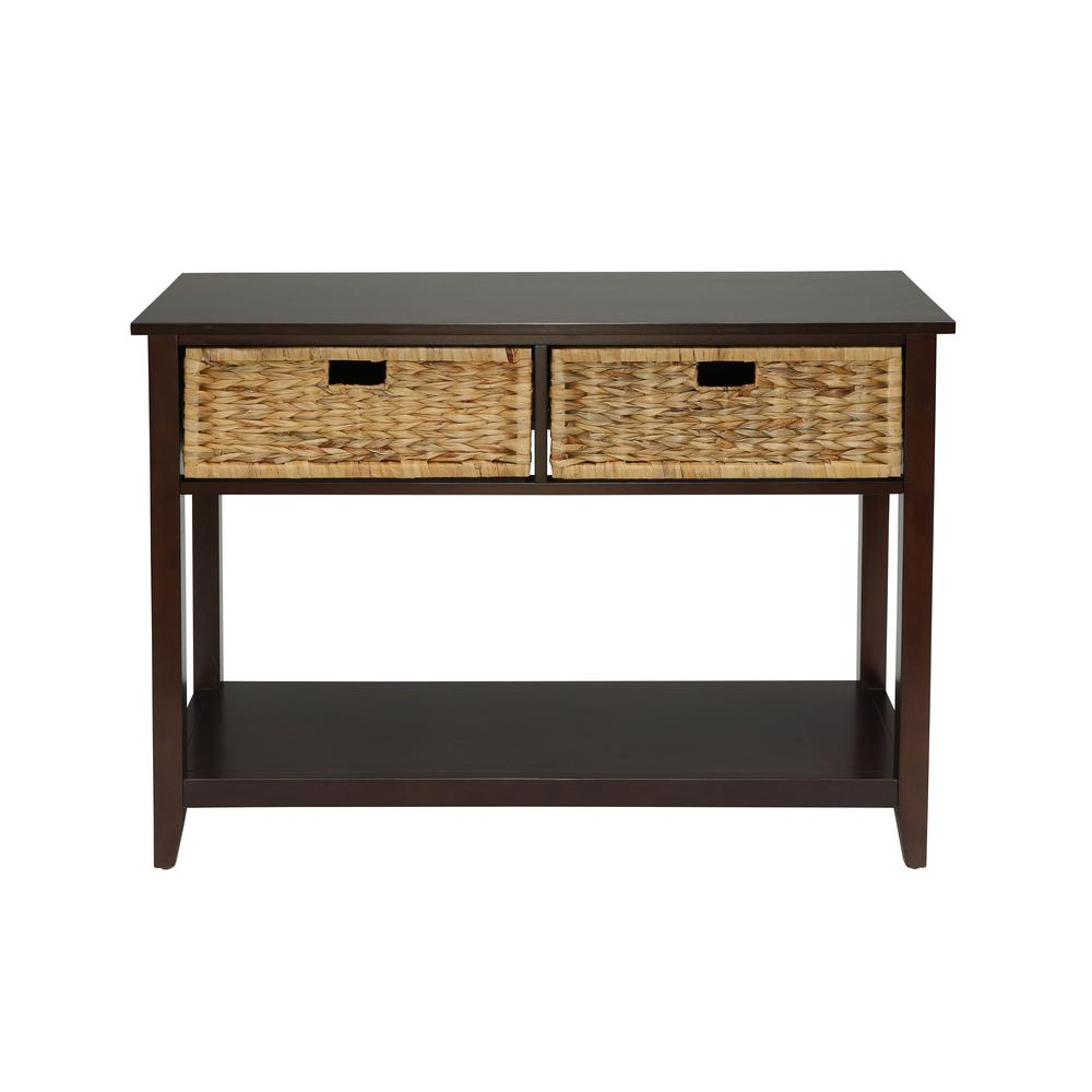 Acme furniture flavius console table in espresso 90264 the home acme furniture flavius console table in espresso geotapseo Images