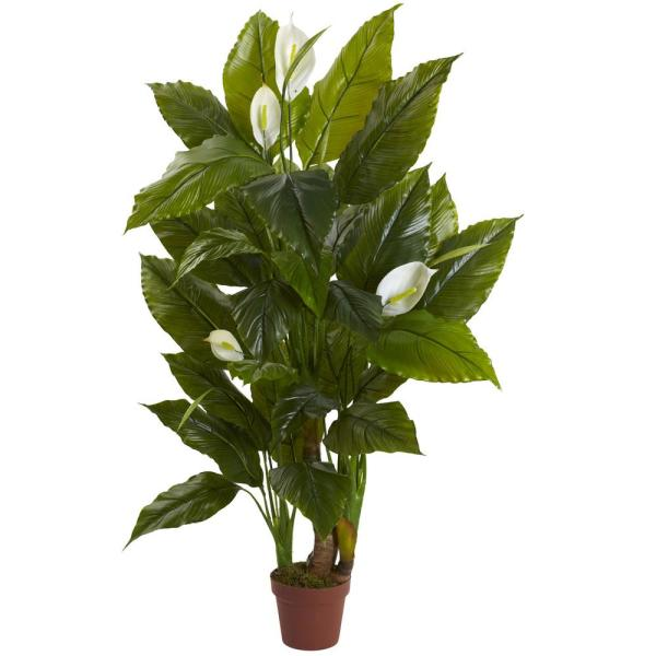 2 ft. Spathyfillum Plant (Real Touch)