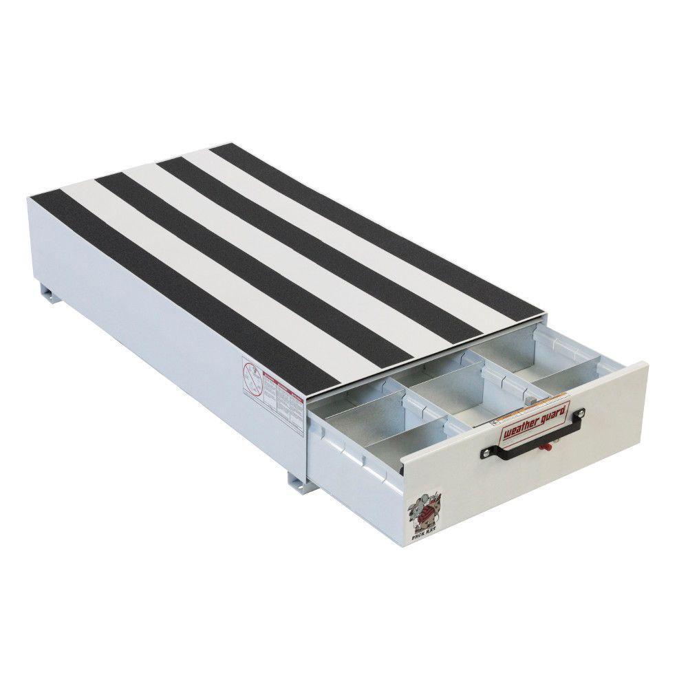 Weather Guard Steel Pack Rat Drawer Unit Brite White