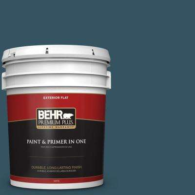 5 gal. #MQ5-24 Opera Glasses Flat Exterior Paint and Primer in One
