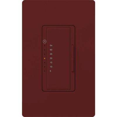 Maestro 5 Amp In-Wall Digital Timer - Merlot