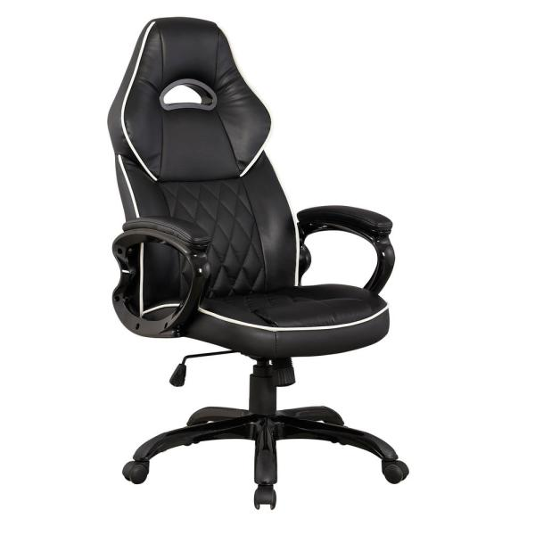 Techni Mobili Black High Back Executive Sport Race Office Chair