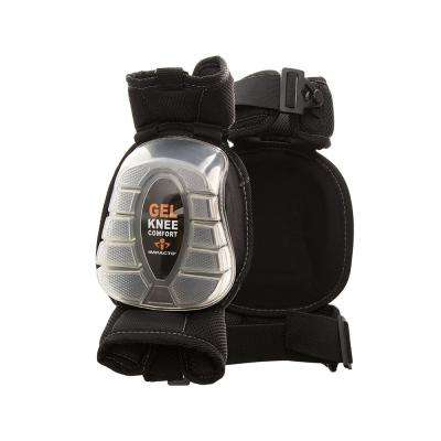 Black/Clear Gel-Pro Articulating Knee Pads