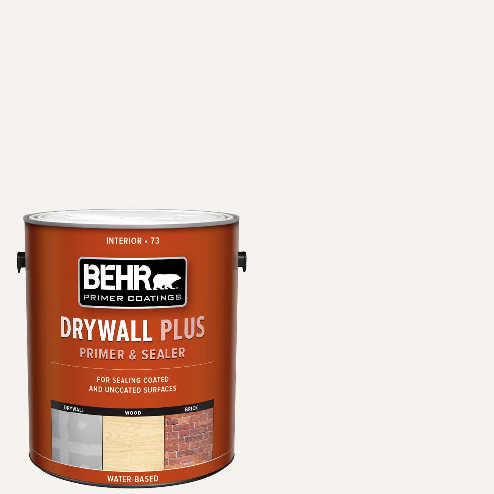 BEHR 1 gal. White Acrylic Interior Drywall Plus Primer and Sealer