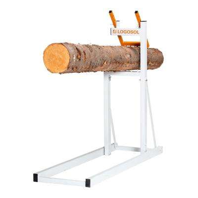 46.5 in. x 15 in. x 2 in. Steel Compact Adjustable Folding Sawhorse SMART Holder Folded Dimensions