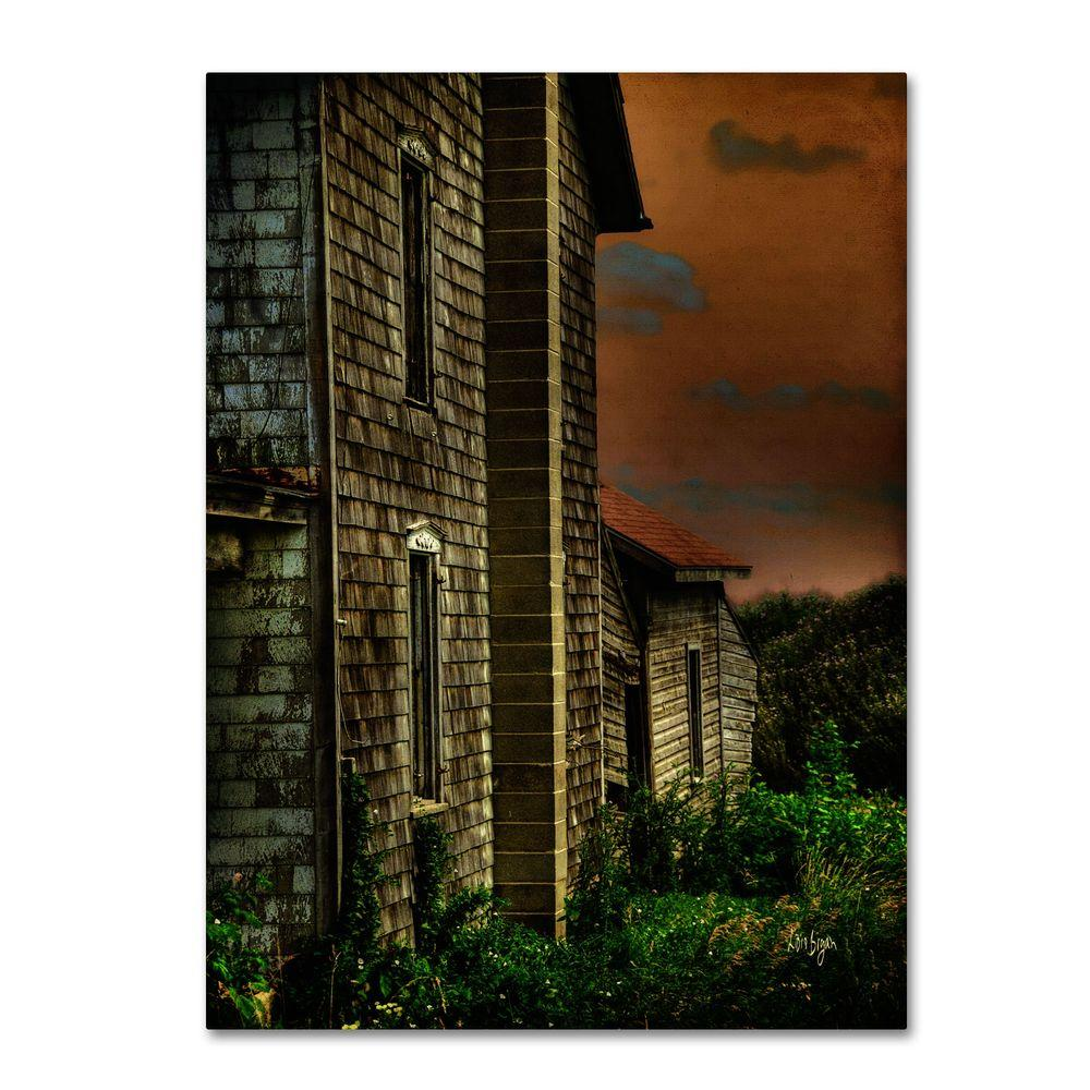 24 in. x 16 in. Old Farmhouse Canvas Art