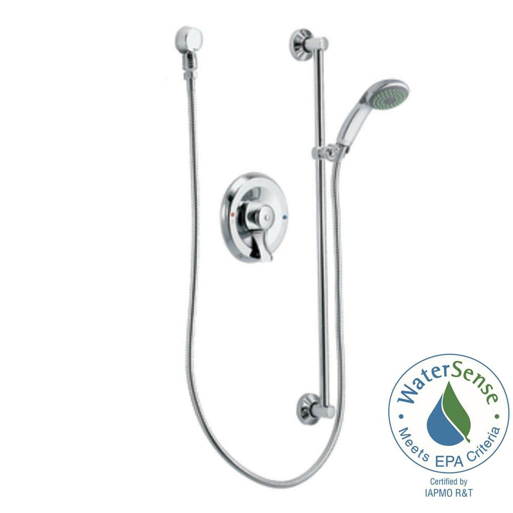 1-Spray Eco-Performance Hand Shower in Chrome (Valve Included)