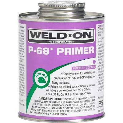 16 oz. PVC P-68 Primer in Purple