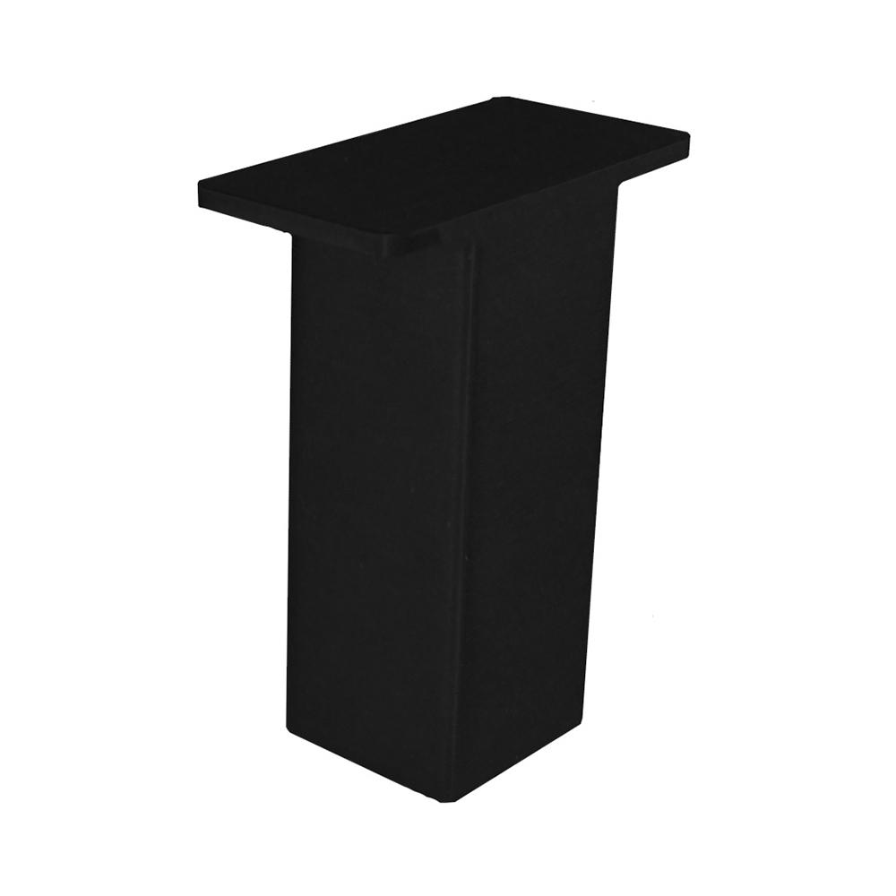 The Plaza 4 in. x 5 in. Black Countertop Stand Off