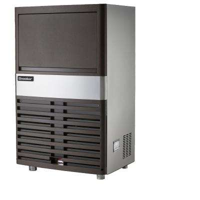 60 lb. Freestanding or Built-In Ice Maker in Stainless Steel