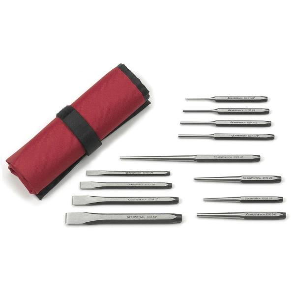 Punch and Chisel Set (12-Piece)