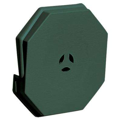 6.625 in. x 6.625 in. #028 Forest Green Surface Universal Mounting Block