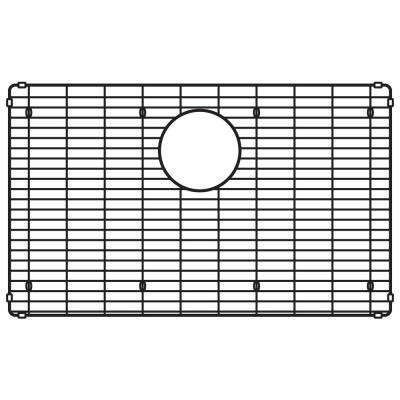 Stainless Steel Sink Grid for Quatrus R15 28 in. Single Bowl
