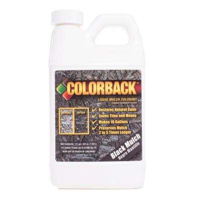 1/2 Gal. Black Mulch Colorant Covering up to 6400 sq. ft.