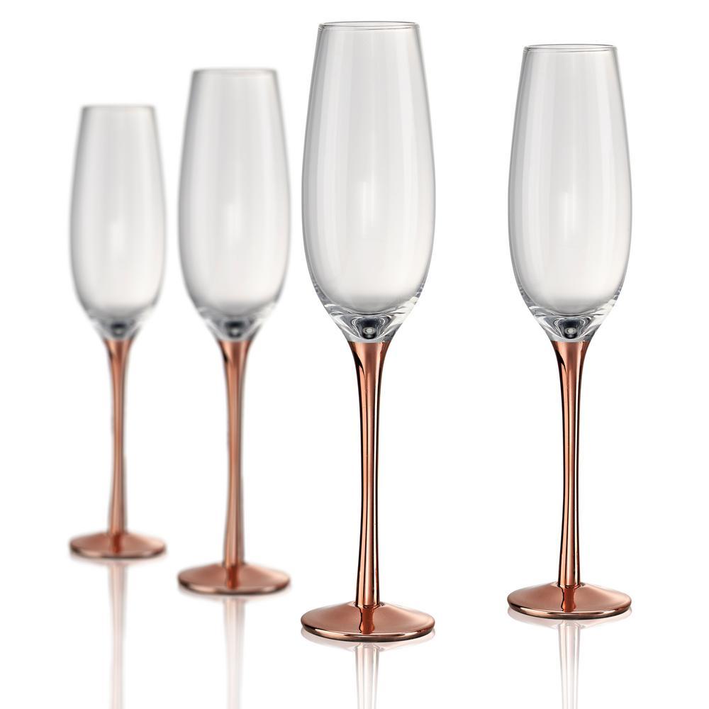 8 oz. Champagne Flute (Set of 4)