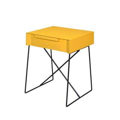 Gualacao Yellow End Table