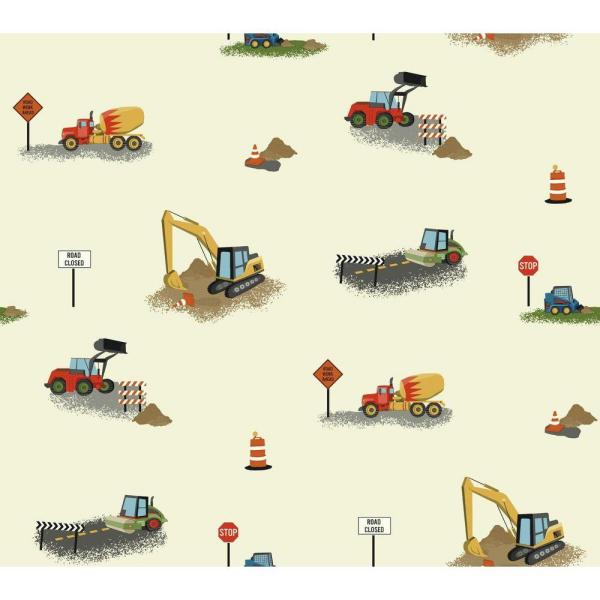 York Wallcoverings Waverly Kids Can You Dig It Wallpaper WK6946