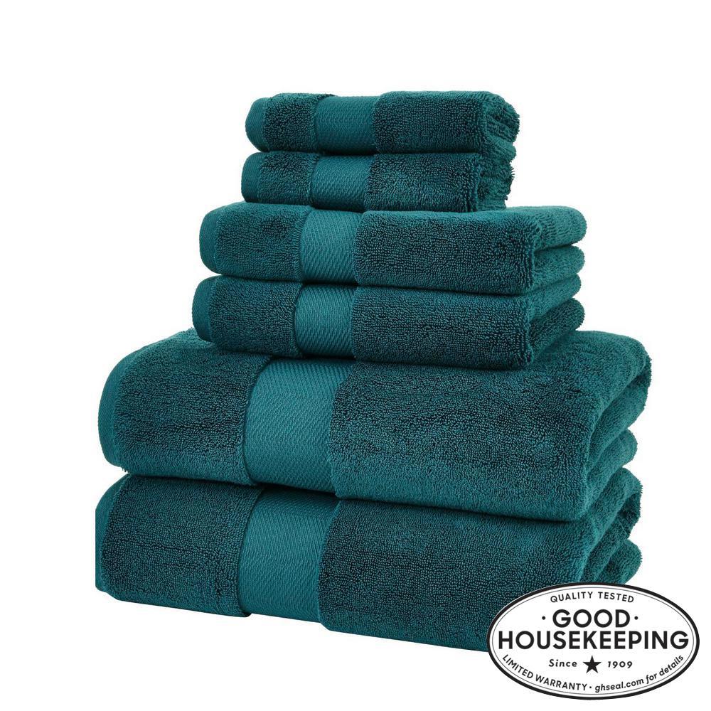 Home Decorators Collection Plush Soft Cotton 6-Piece Towel Set