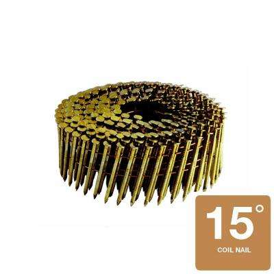 1-1/4 in. x 0.120 in. 304 Stainless Steel Ring Shank Coil Roofing Nail (600-Count)