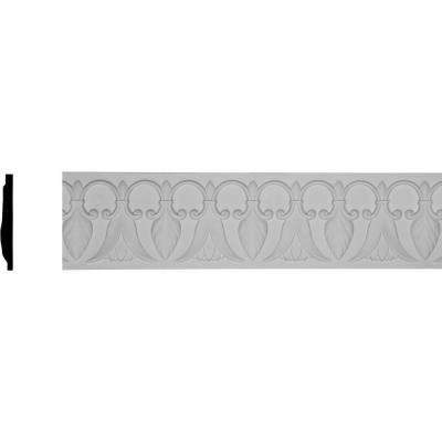 3/4 in. x 6-3/4 in. x 96 in. Polyurethane Springtime Chair Rail Moulding