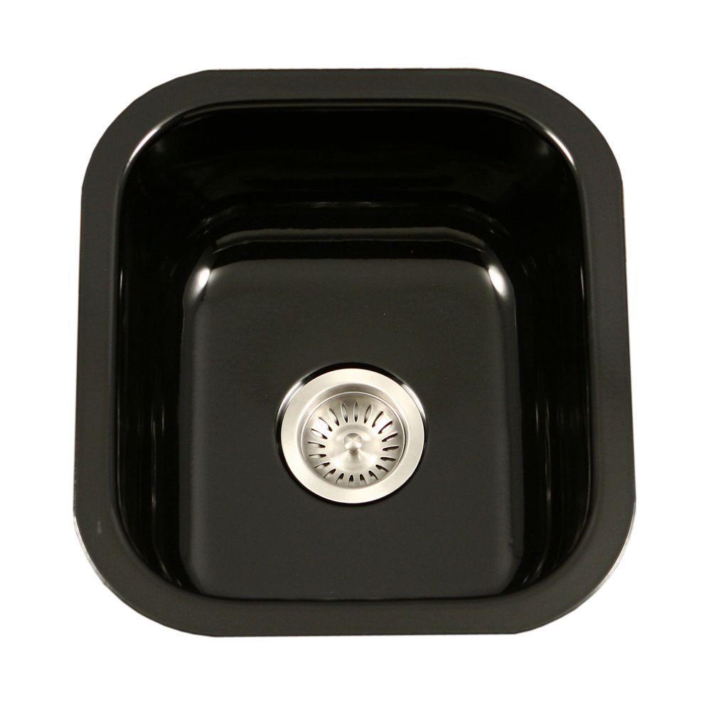 Porcelain Enameled Steel - Kitchen Sinks - Kitchen - The Home Depot