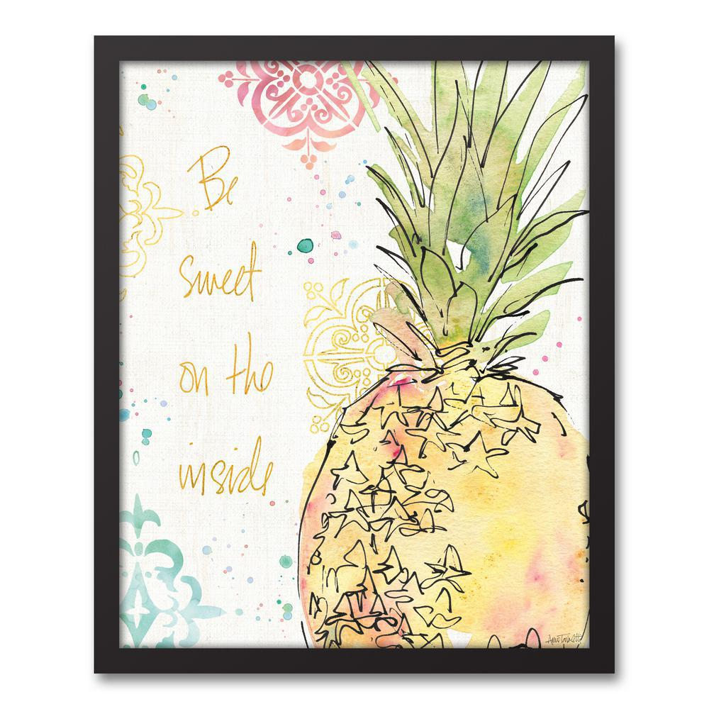 DESIGNS DIRECT 16 in. x 20 in. \'\'Palm Passion\'\' Printed Framed ...