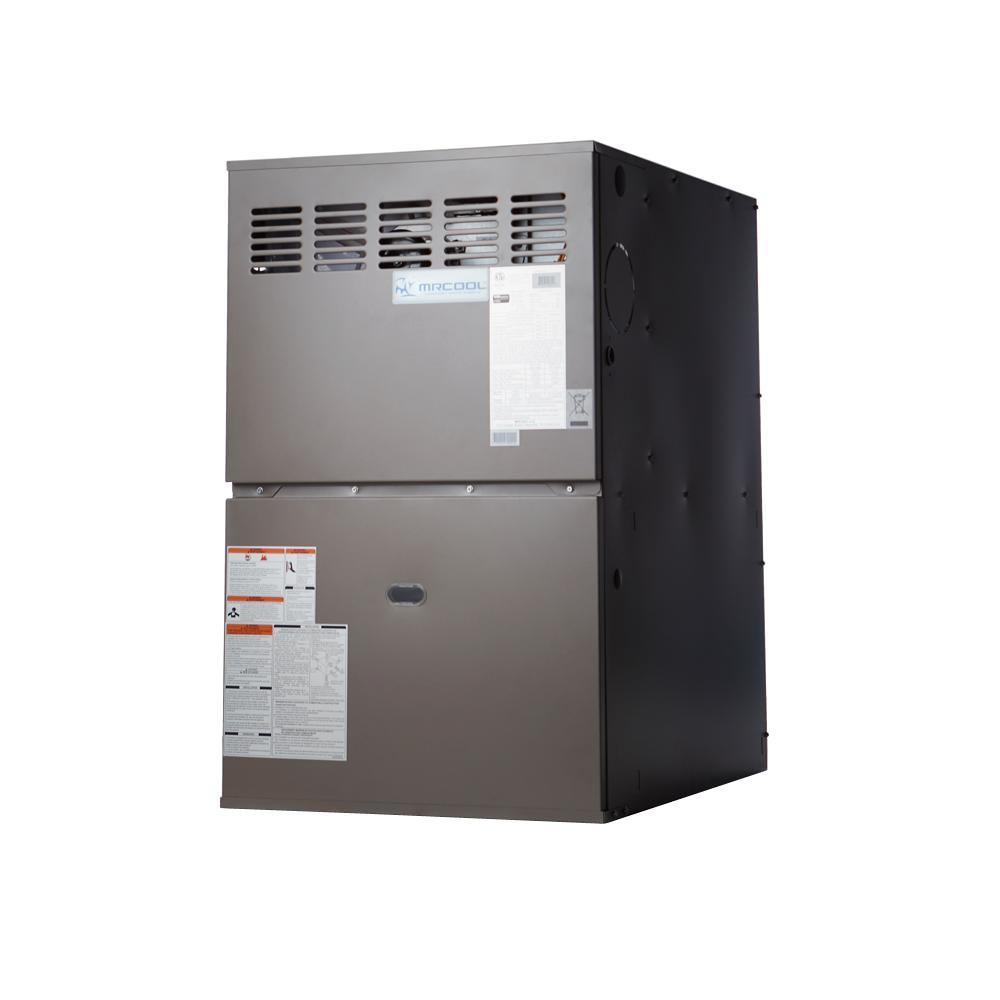 80% AFUE 100,000 BTU Multi-Position Multi-Speed Gas Furnace with LP Kit