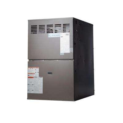80% AFUE 100,000 BTU Multi-Position Multi-Speed Gas Furnace with LP Kit