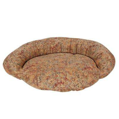 Small Tapestry Bolster Bed
